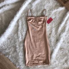 Vestido de Alcinha Reto NUDE